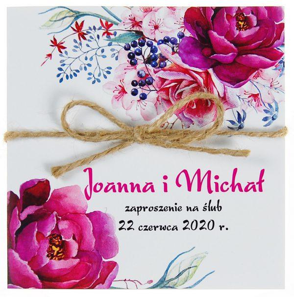 zaproszenia-ślubne-boho-kwiatowe-rustykalne-ze-sznurkiem-Tamara-KW