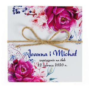 zaproszenia-ślubne-boho-kwiatowe-rustykalne-ze-sznurkiem-Tamara-KW10