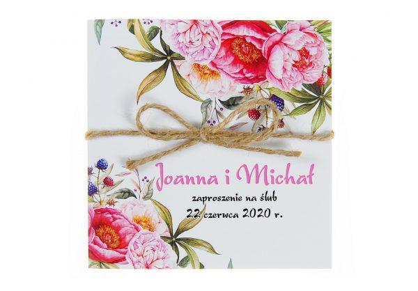 zaproszenia-ślubne-boho-kwiatowe-rustykalne-ze-sznurkiem-Tamara-KW14