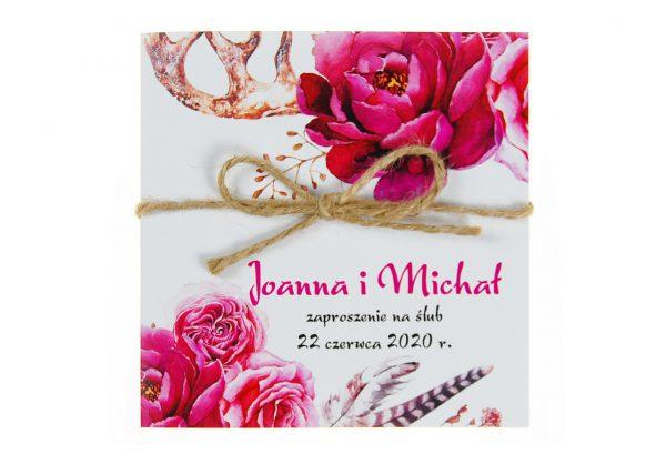 zaproszenia-ślubne-boho-kwiatowe-rustykalne-ze-sznurkiem-Tamara-KW5