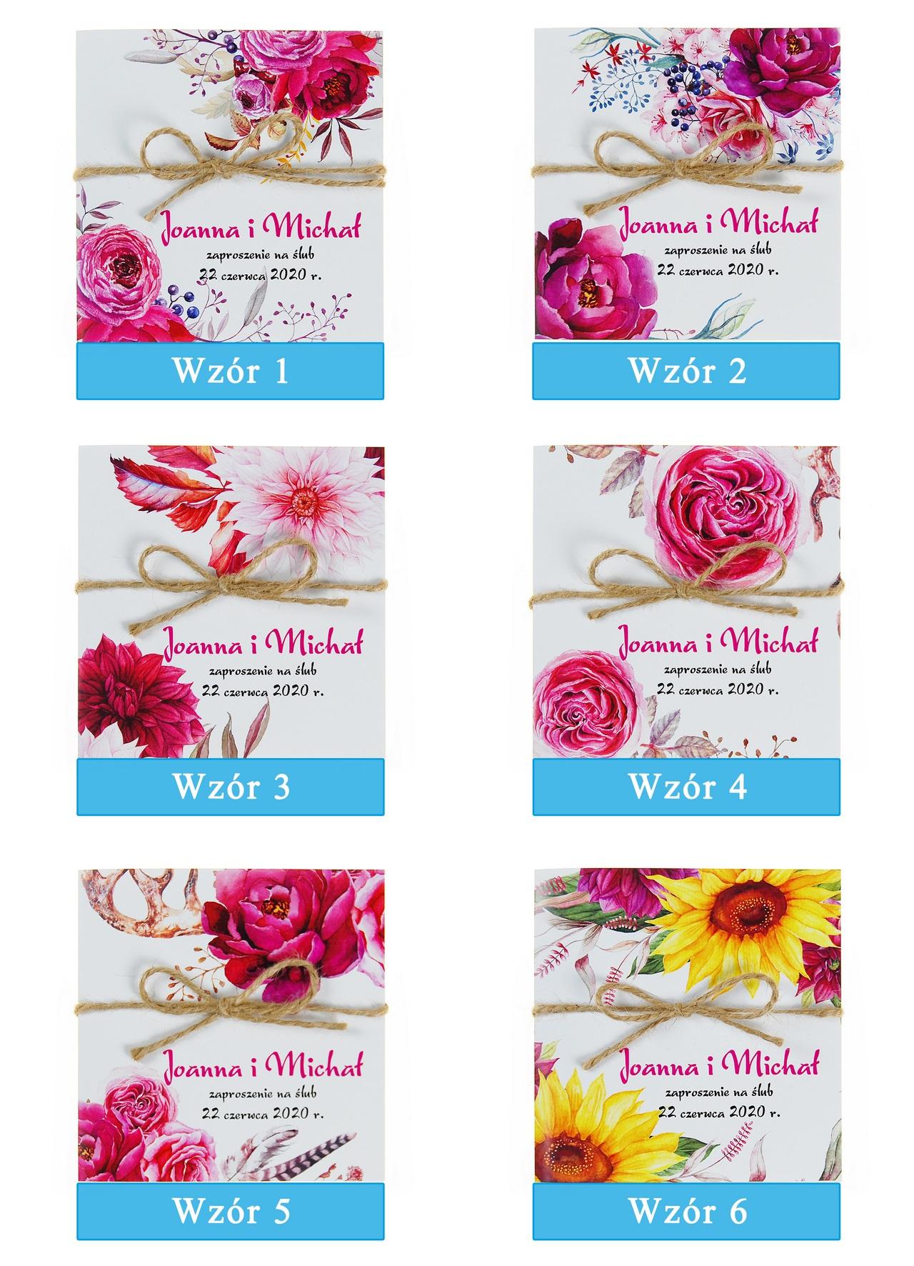 zaproszenia-ślubne-boho-kwiatowe-rustykalne-ze-sznurkiem-Tamara-plansza-wzory1-6
