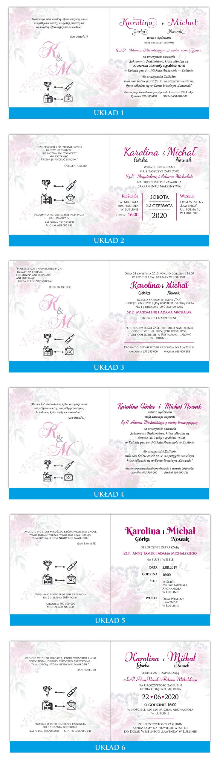 zaproszenia-ślubne-boho-kwiatowe-rustykalne-ze-sznurkiem-Tamara-układy-tekstu