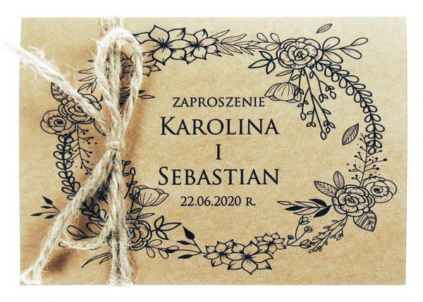 zaproszenia-ślubne-boho-rustykalne-Nastia2-Wianki-ekologiczne-ze-sznurkiem-eko-wianek2
