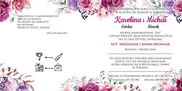 zaproszenia-ślubne-boho-rustykalne-kwiatowe-Nikola-ze-wstążką-Układ3