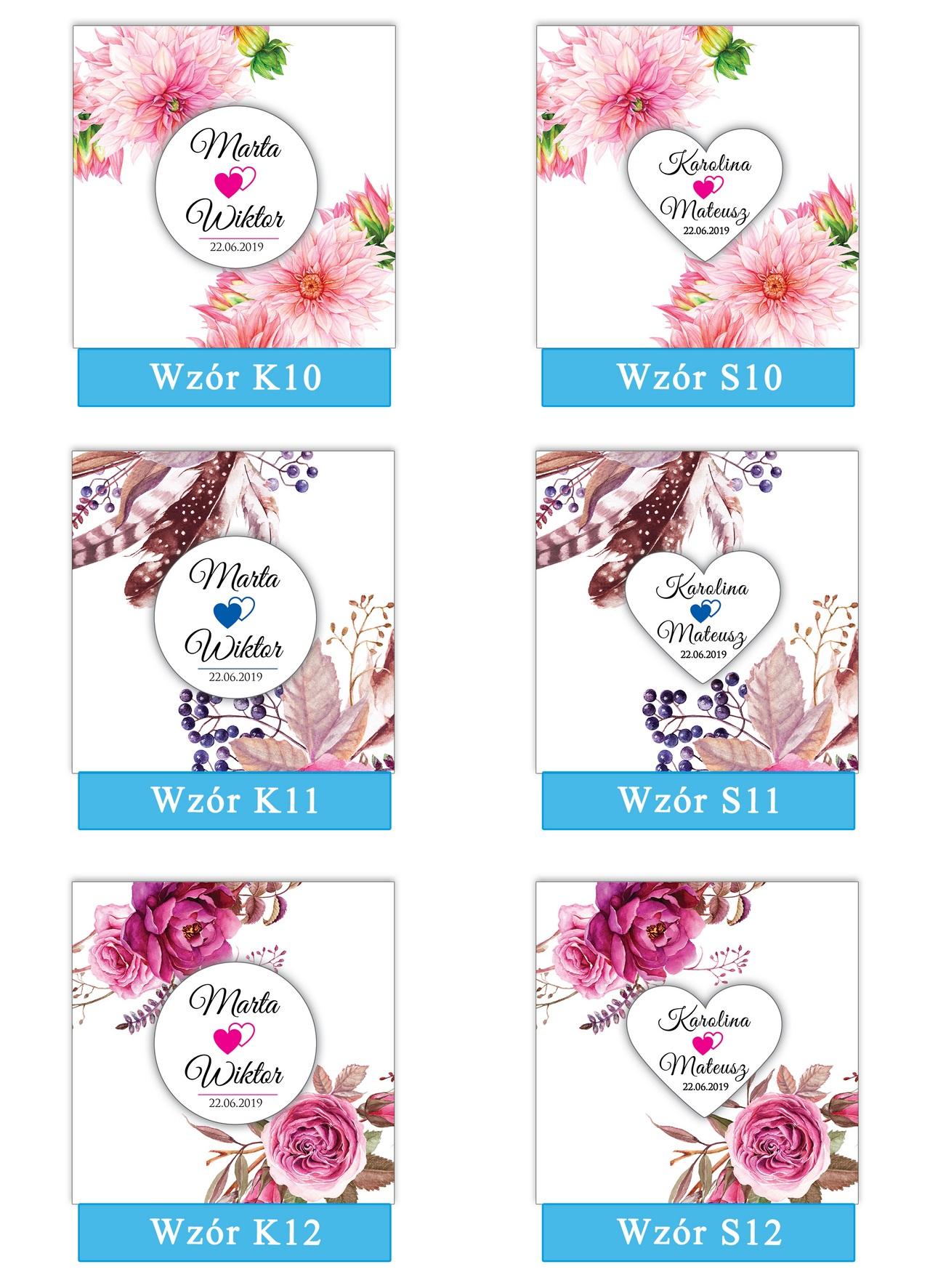 zaproszenia-ślubne-boho-rustykalne-kwiatowe-Nikola-ze-wstążką-kwiaty boho-plansza-wzory10-12