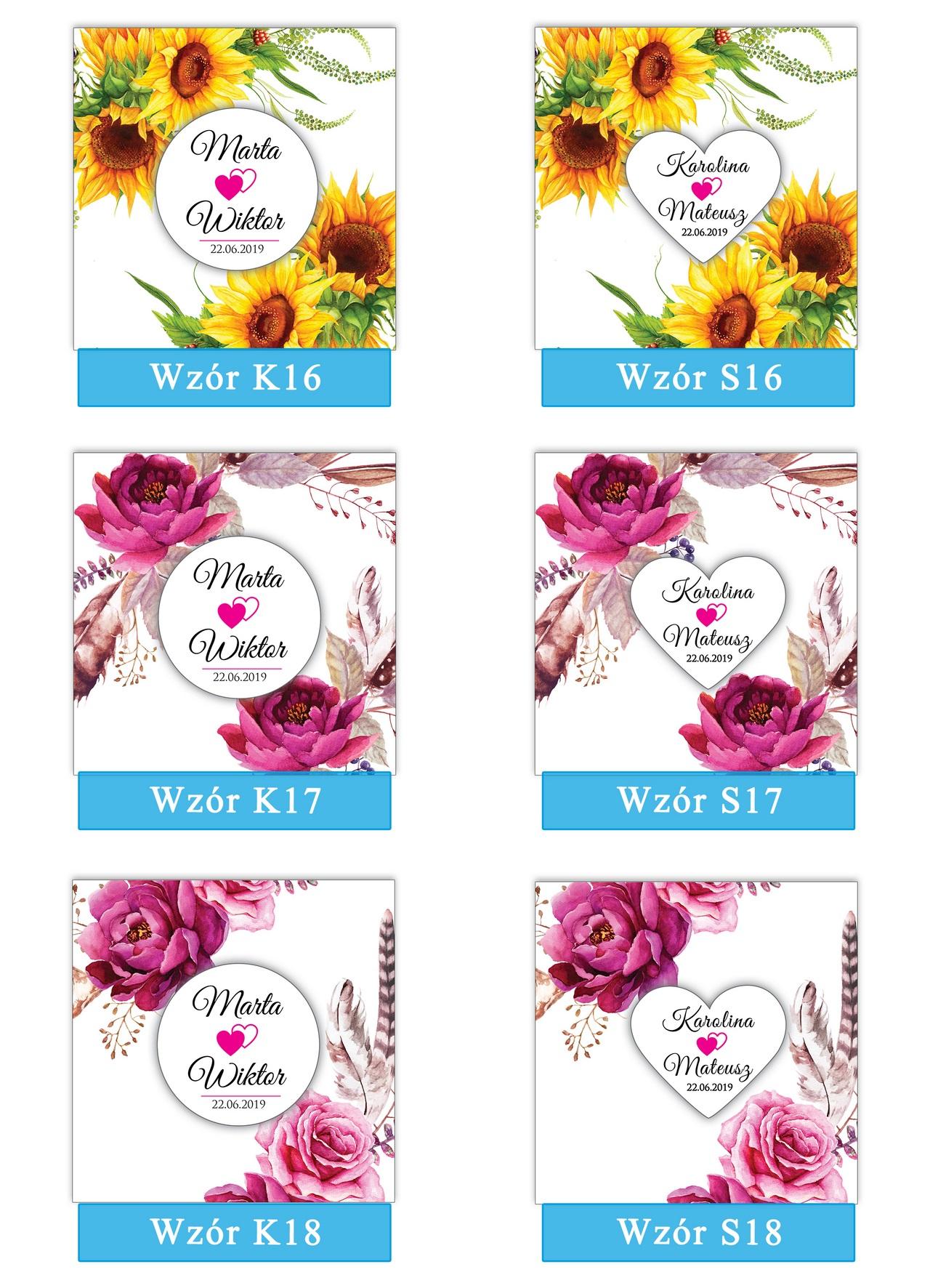 zaproszenia-ślubne-boho-rustykalne-kwiatowe-Nikola-ze-wstążką-kwiaty boho-plansza-wzory16-18