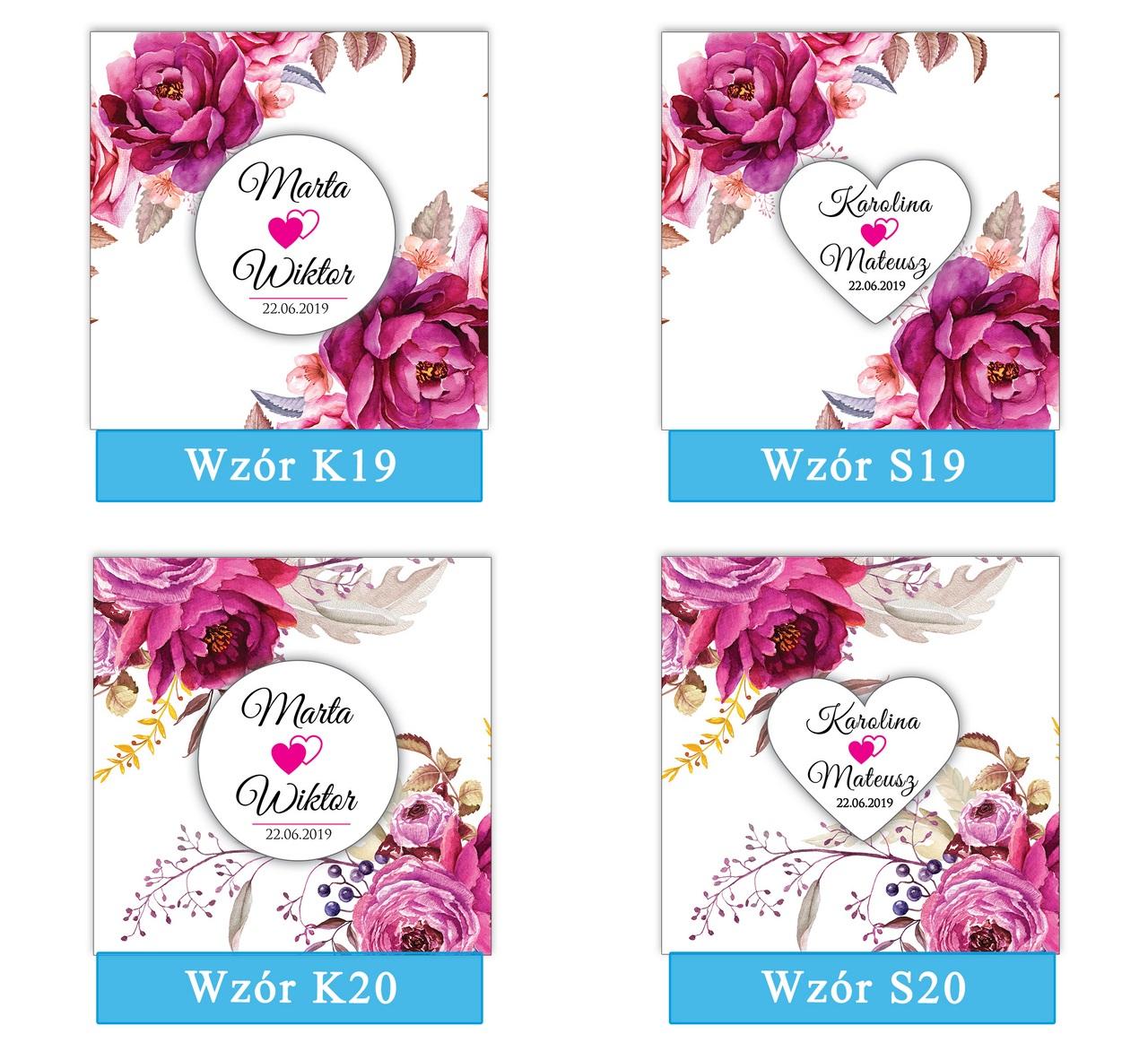 zaproszenia-ślubne-boho-rustykalne-kwiatowe-Nikola-ze-wstążką-kwiaty boho-plansza-wzory19-20