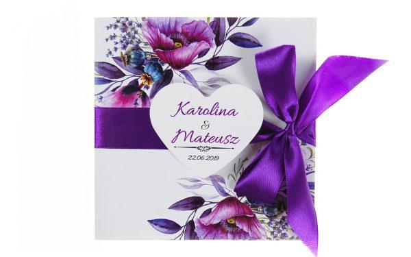 zaproszenia-ślubne-boho-rustykalne-kwiatowe-Nikola-ze-wstążką-kwiaty-wstążka16
