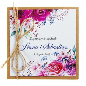 zaproszenia-ślubne-boho-rustykalne-kwiatowe-Nikola3-ze-sznurkiem-eko-klejone-front-na-białym-papierze-f5