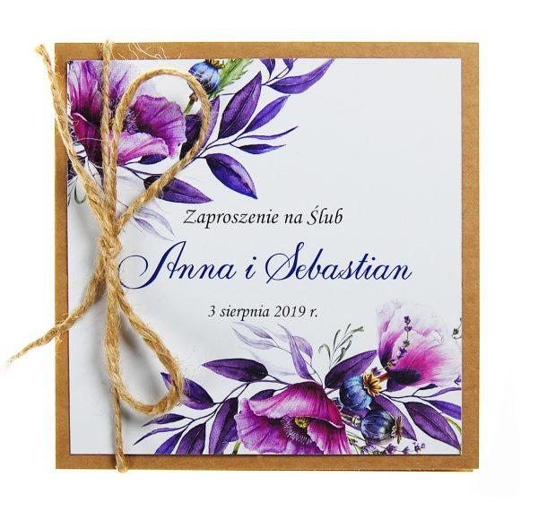 zaproszenia-ślubne-boho-rustykalne-kwiatowe-Nikola3-ze-sznurkiem-eko-klejone-front-na-białym-papierze-f6