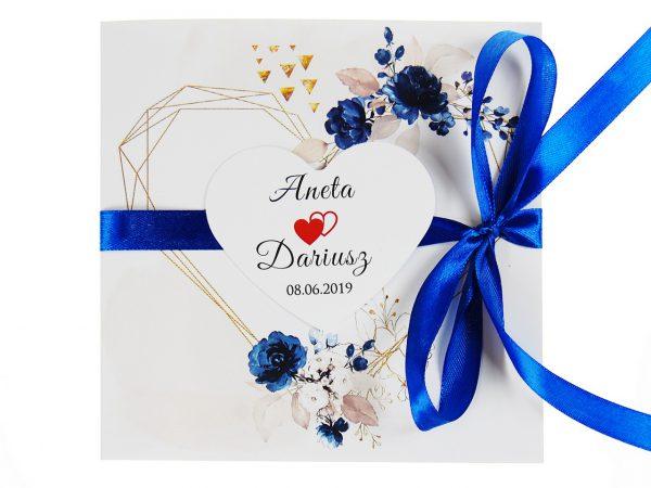 zaproszenia-ślubne-boho-rustykalne-kwiatowe--ramki-serca-geometryczne-ze-wstążką-Wenus2-zdj 4