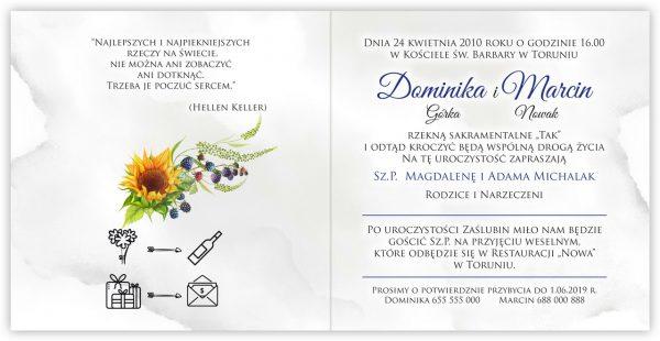 zaproszenia-ślubne-boho-rustykalne-kwiatowe--ramki-serca-geometryczne-ze-wstążką-Wenus3-wnętrze10
