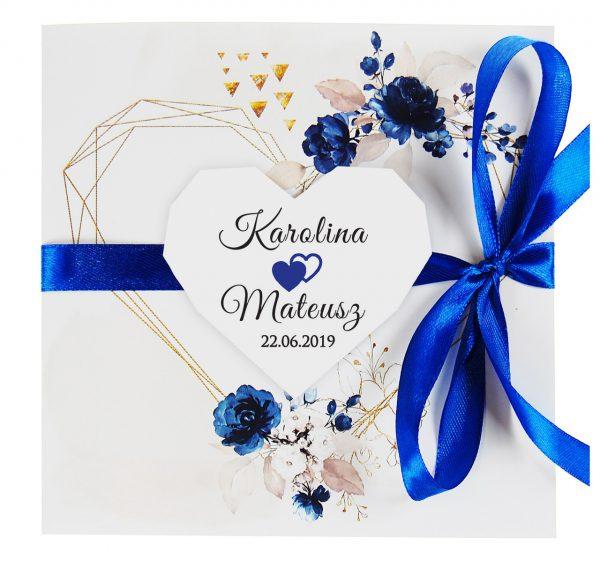 zaproszenia-ślubne-boho-rustykalne-kwiatowe--ramki-serca-geometryczne-ze-wstążką-Wenus3-zdjęcie 4