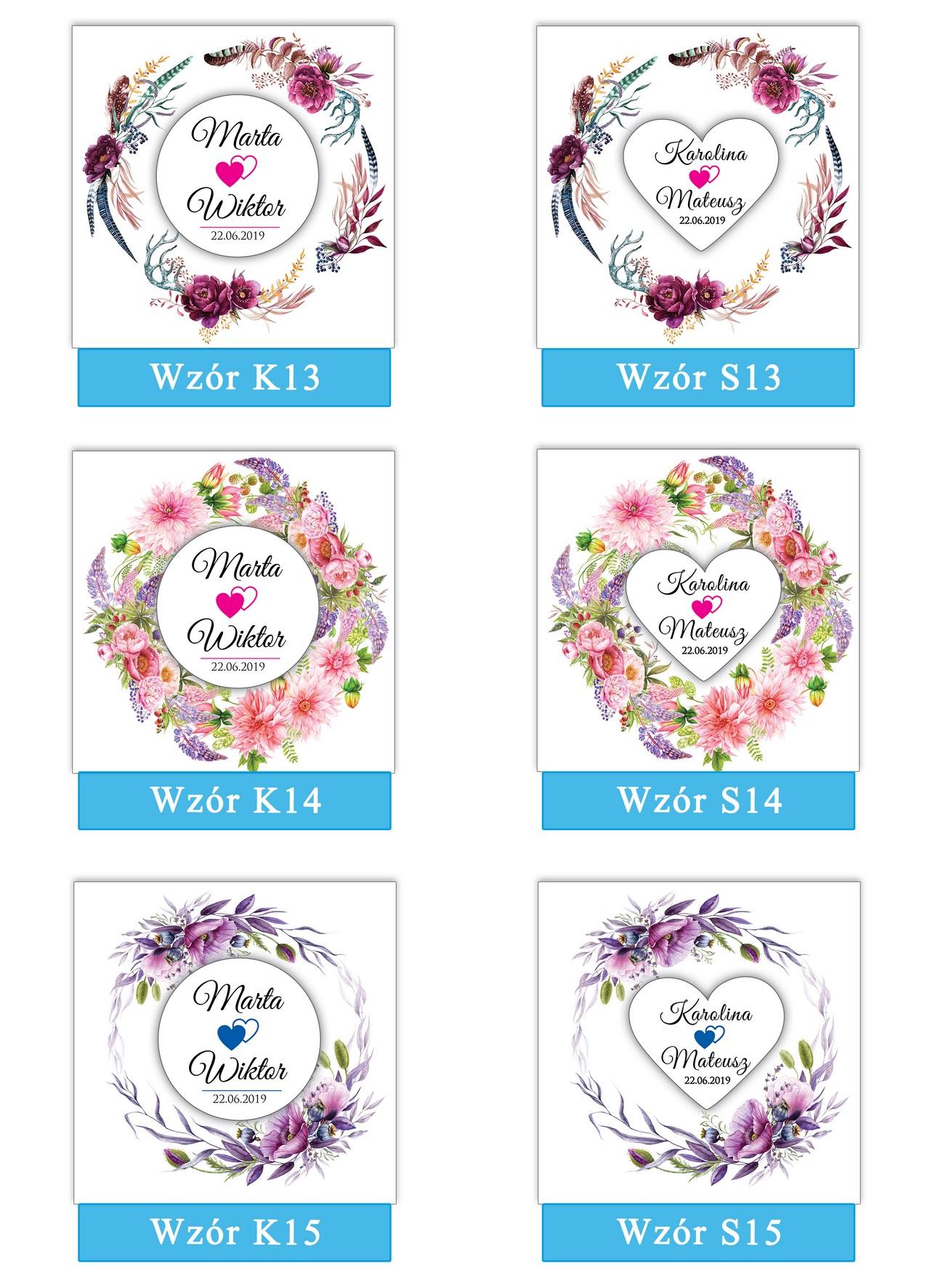 zaproszenia-ślubne-boho-rustykalne-wianki-kwiatowe-Silena-ze-wstążką-plansza-wzory13-15
