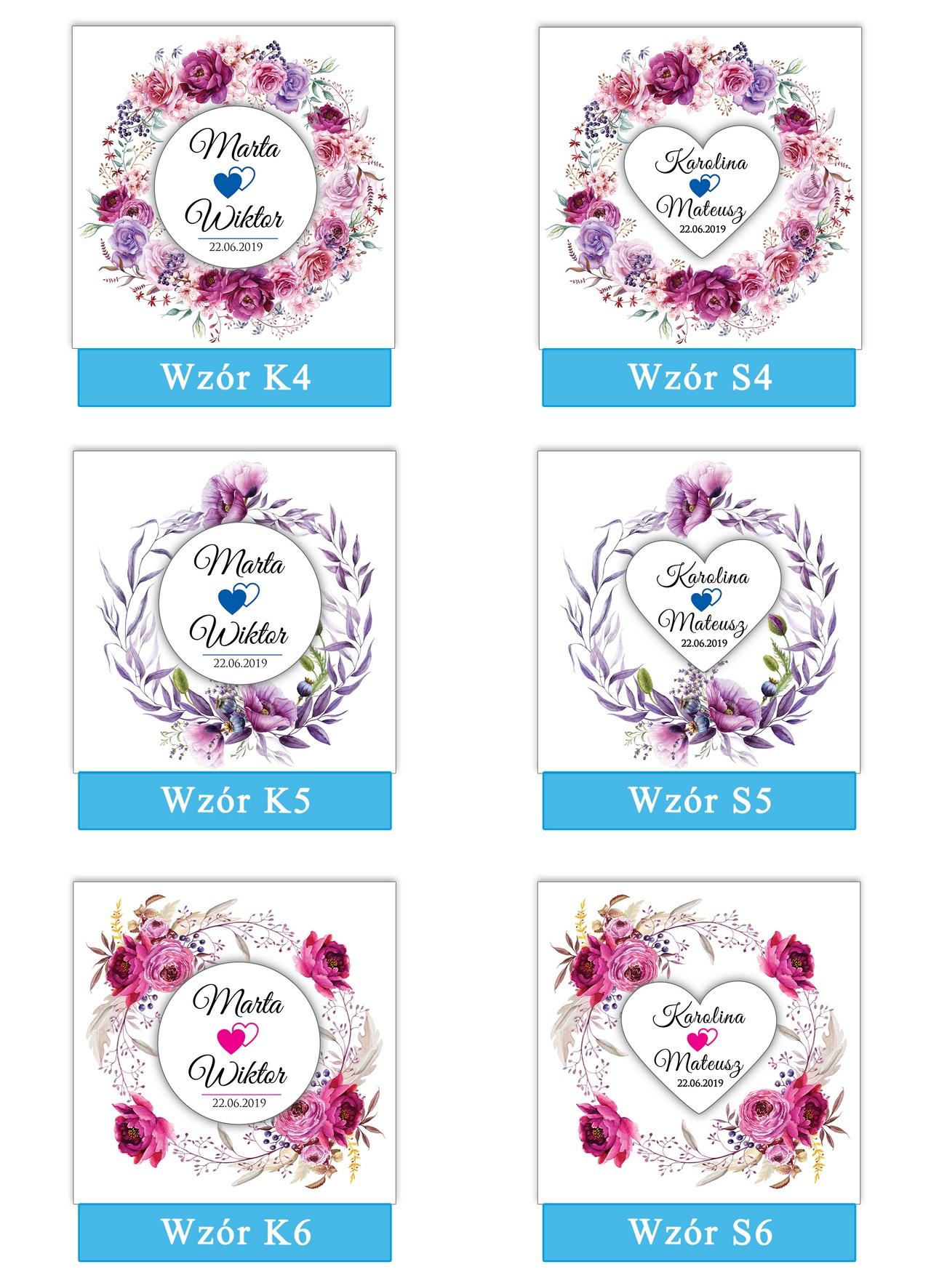 zaproszenia-ślubne-boho-rustykalne-wianki-kwiatowe-Silena-ze-wstążką-plansza-wzory4-6