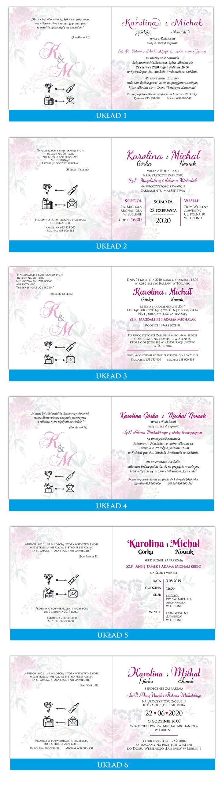 zaproszenia-ślubne-boho-rustykalne-wianki-kwiatowe-Silena-ze-wstążką-układy-tekstu