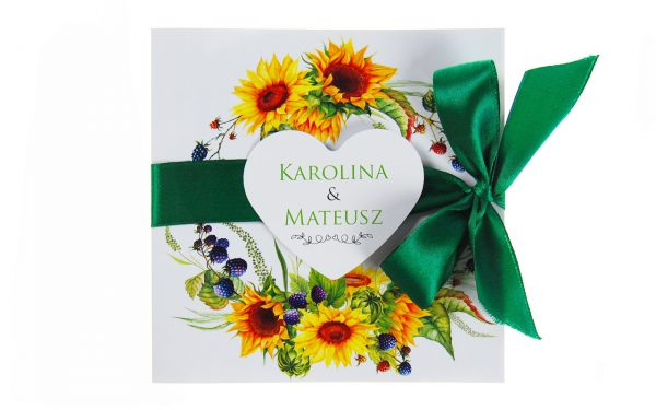 zaproszenia-ślubne-boho-rustykalne-wianki-kwiatowe-Silena-ze-wstążką-wstążka7