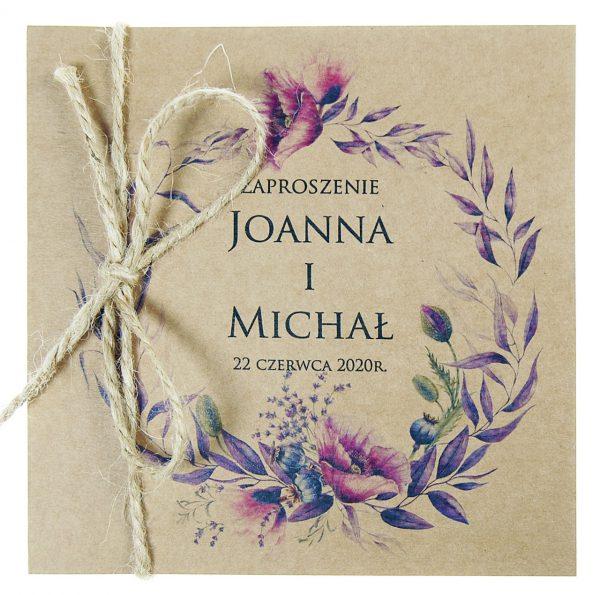 zaproszenia-ślubne-boho-wianki-kwiatowe-EkoSilena-ekopapier-ekologiczne-5