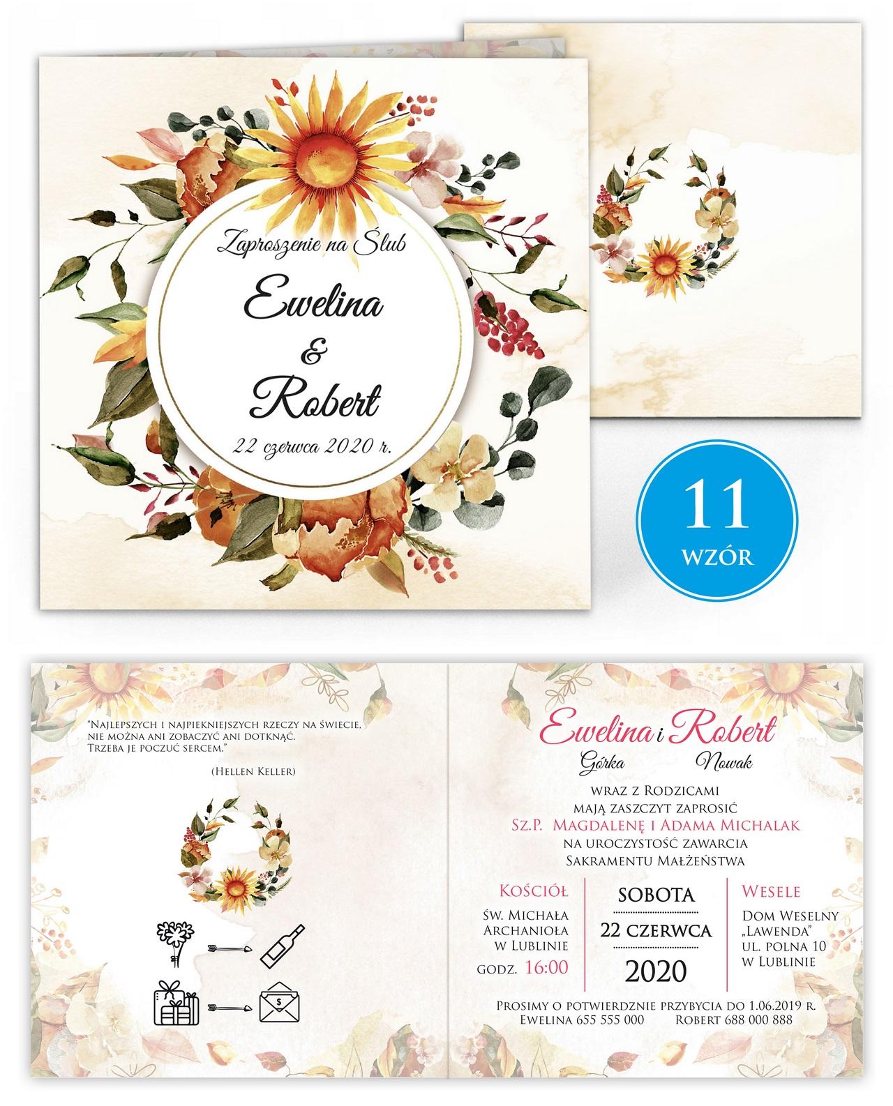 zaproszenia-ślubne-kwiatowe-ramki-boho-rustykalne-Tacjana-wiz11