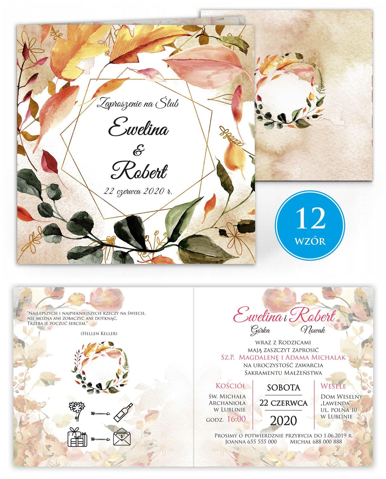 zaproszenia-ślubne-kwiatowe-ramki-boho-rustykalne-Tacjana-wiz12