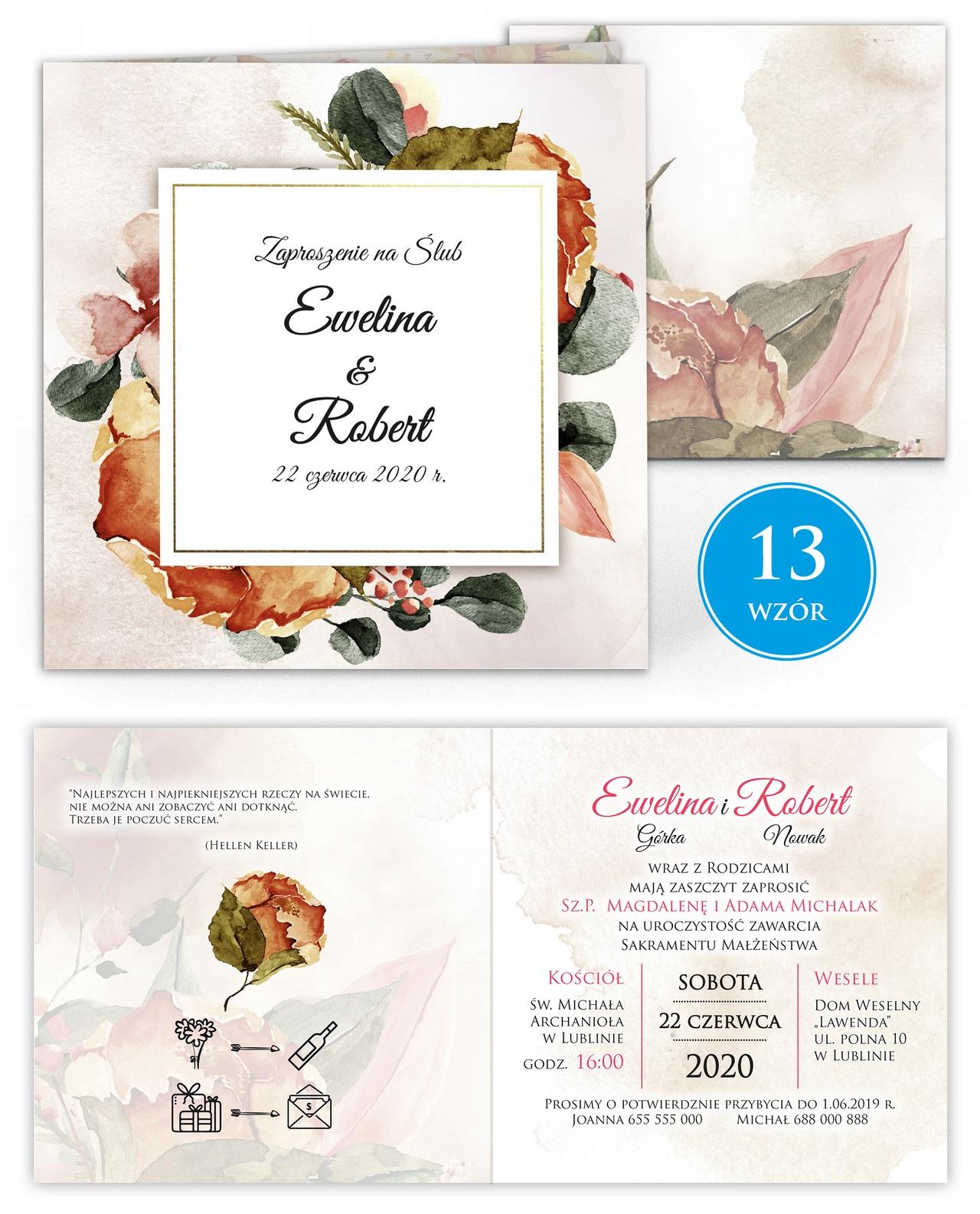 zaproszenia-ślubne-kwiatowe-ramki-boho-rustykalne-Tacjana-wiz13