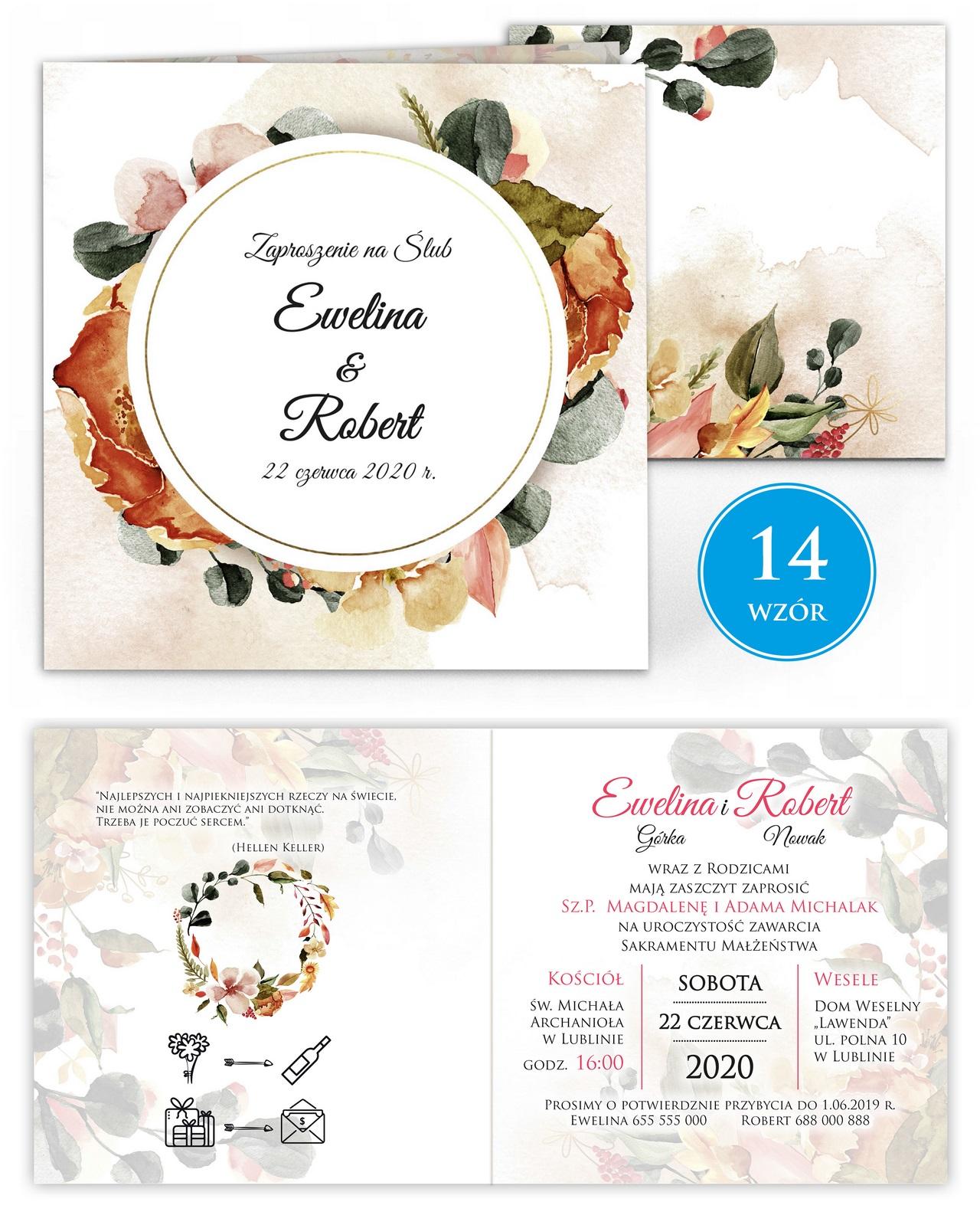 zaproszenia-ślubne-kwiatowe-ramki-boho-rustykalne-Tacjana-wiz14