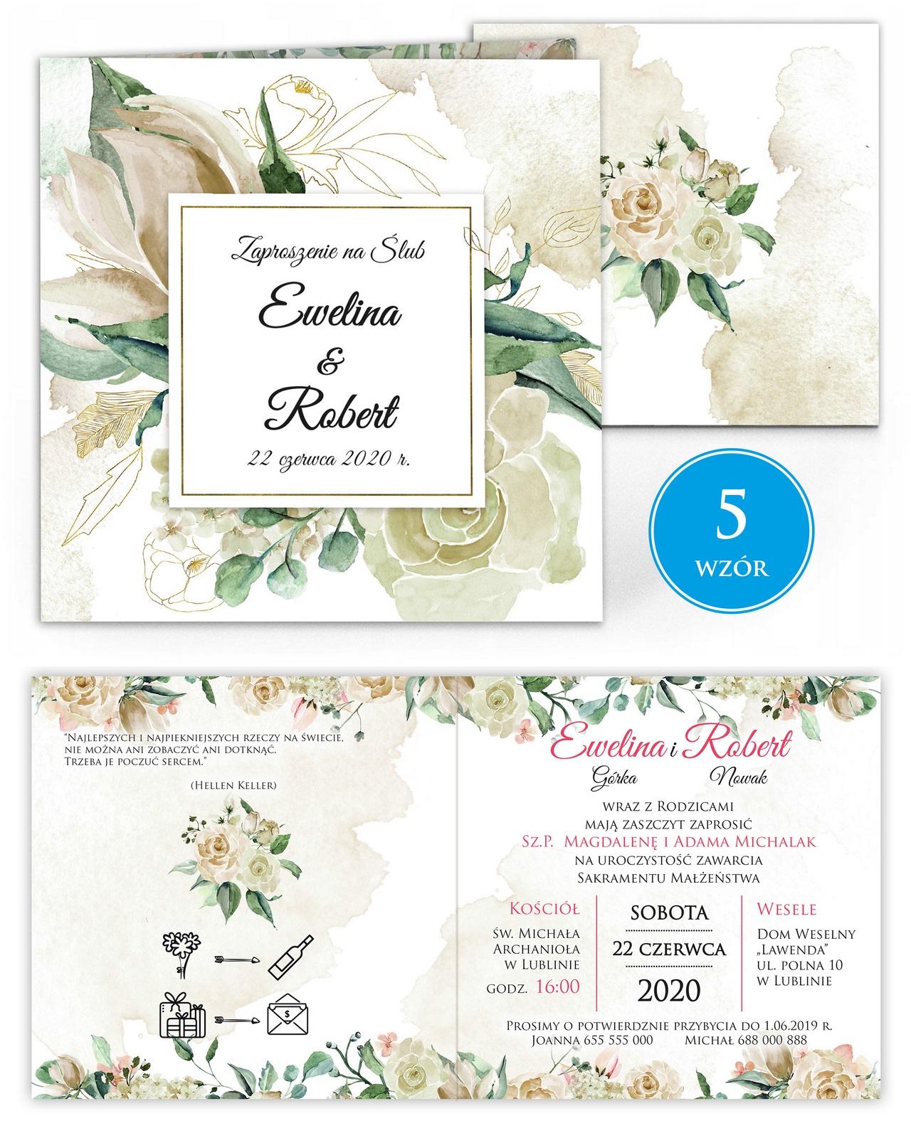 zaproszenia-ślubne-kwiatowe-ramki-boho-rustykalne-Tacjana-wiz5