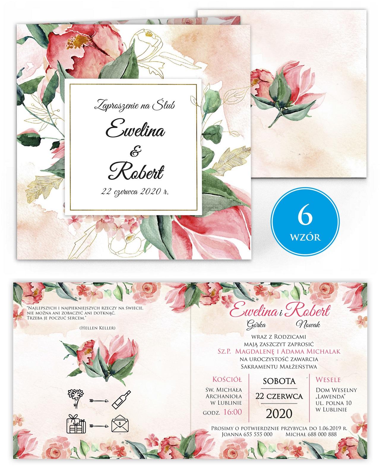 zaproszenia-ślubne-kwiatowe-ramki-boho-rustykalne-Tacjana-wiz6