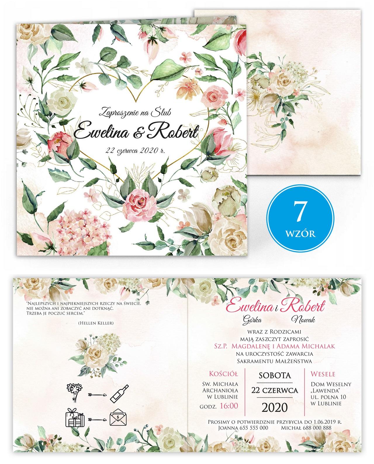 zaproszenia-ślubne-kwiatowe-ramki-boho-rustykalne-Tacjana-wiz7