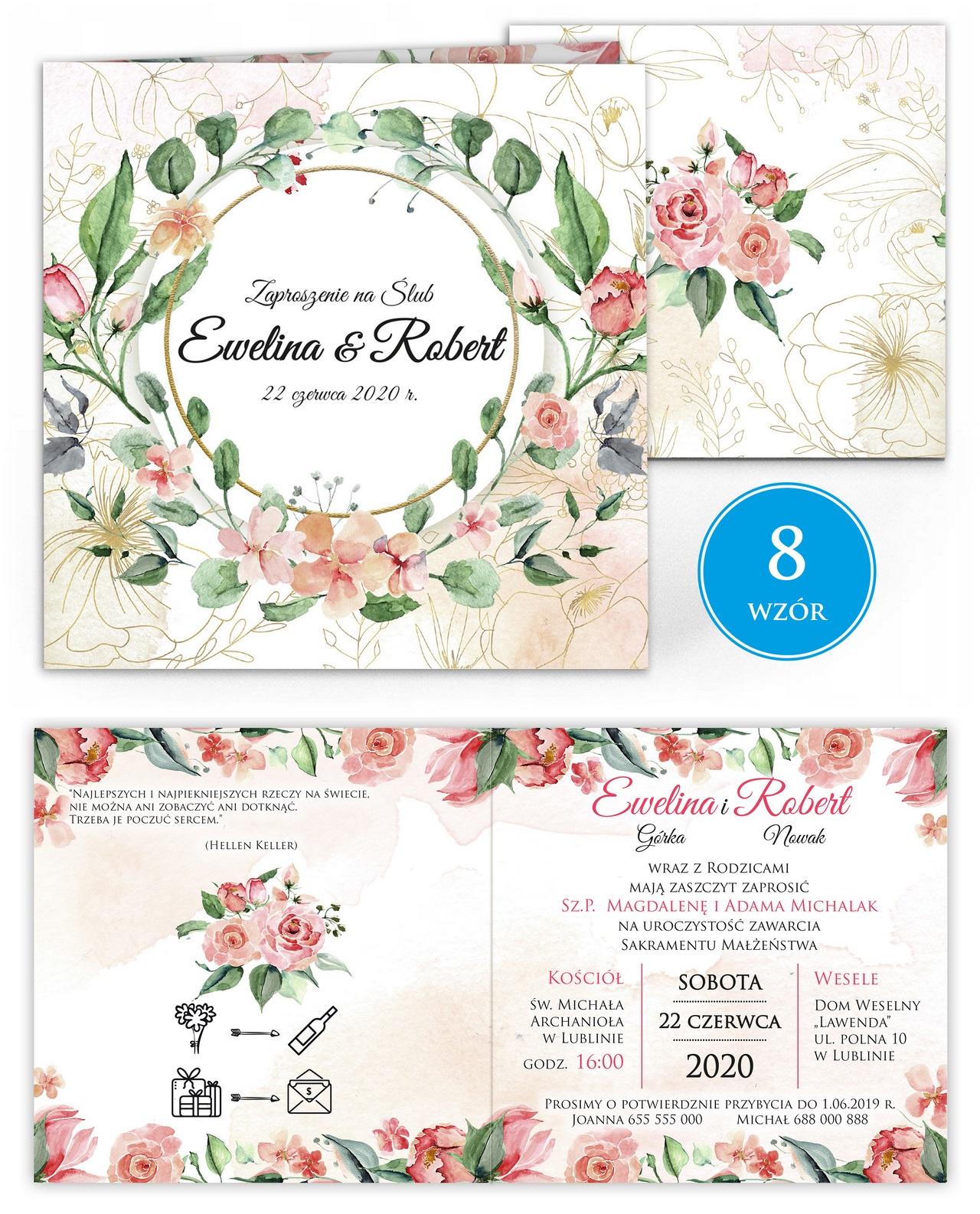 zaproszenia-ślubne-kwiatowe-ramki-boho-rustykalne-Tacjana-wiz8
